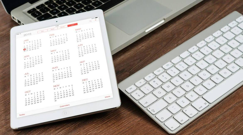 Calendario iPad